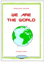 We are the world (Partitur)