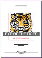 Eye Of The Tiger (Partitur)