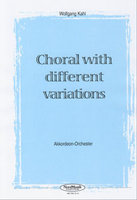 Choral with different Variations (Partitur)