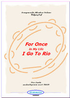 For Once In My Life / I Go To Rio (Partitur)