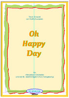 Oh happy day (Partitur)