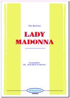 Lady Madonna (Partitur)